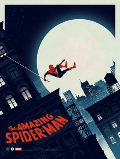 Cool Art: The Amazing Spider-Man by Matt Ferguson. See them here