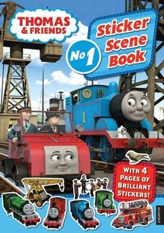 Thomas & Friends Sticker Scene