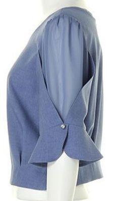 Best 11 Variasi tngan – Page 319403798574724672 – SkillOfKing. Kurti Sleeves Design, Sleeves Designs For Dresses, Kurti Neck Designs, Salwar Designs, Sleeve Designs, Blouse Designs, Sewing Clothes, Diy Clothes, Clothes For Women