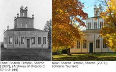 Sharon Temple, Ontario Road Trips, Ontario, Temple, Canada, Mansions, House Styles, Home, Decor, Decoration