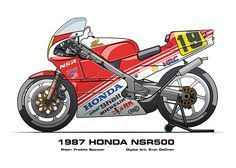 Honda NSR500 1983 - 2002
