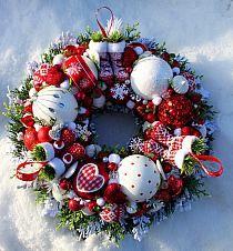 Świąteczne ozdoby choinkowe  z filcu | CyKatja