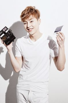 Xiumin   MCM x EXO Collaboration Micro Site - Luxury leather goods, Handbags and Accessories