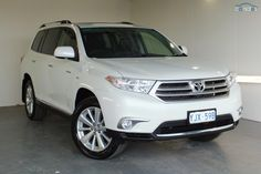 2012 Toyota Kluger Grande MY12 Sports Automatic All Wheel Drive
