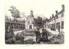 Breda nunnery 13x18cm  `beguinage`