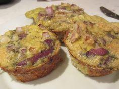 Carbonara Egg Muffins