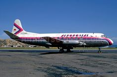 Vickers Viscount 701 (YV-C-AMB, c/n 24) of Aeropostal. C. Volpati Collection.