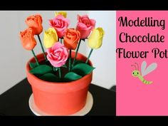 ▶ Chocolate Flower Pot Cake - CAKE STYLE - YouTube