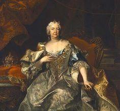 1735 - Kaiserin Elisabeth Christine by J. G. Auerbach