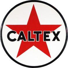 Caltex Fotogen - Gamla Skyltar