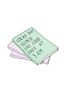 Ah, those brilliant 3 a.m. ideas. #readinghumor http://writersrelief.com/