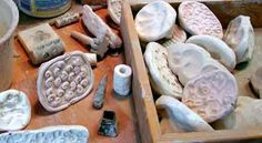 tools•PlumTreePottery Stamp Making, Clays, Tools And Equipment, Pottery Ideas, Stamps, Ceramics, How To Make, Tools, Seals