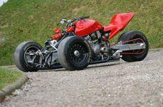 Honda Hornet cb600f reverse trike