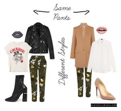 Same Style Different Pants by walkerlkiara on Polyvore featuring Joseph, MadeWorn, STELLA McCARTNEY, AllSaints, River Island, 3.1 Phillip Lim, Christian Louboutin, Nevermind and Lime Crime