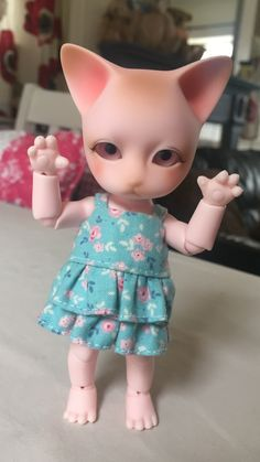 Rawwwr  Pipos pink ringo  Dress by me (Baggaley bears)