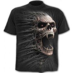 Rockera Ropa Camiseta De Cast Cuadernos Direct Spiral Masculina Con Calavera Out 8BxqwOTPB