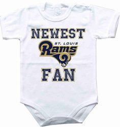 Baby bodysuit Newest fan St. Louis Rams football NFL One Piece Bodysuit Funny Baby Onesie Child boy girlen's Clothing Kid's Shower boy on Etsy, $10.98