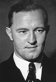 """28 May 45: Brooklyn-born William Joyce, the German propagandist whose radio broadcasts to Britain during the war earned him the nickname """"Lord Haw-Haw"""" is captured by British troops. He will be hanged by the British as a traitor in 1946, being taken to owe allegiance to the UK by his possession of a British passport, a document to which, ironically, he was not entitled. He will become the last person to be executed in Britain for an act of treason. #WWII"""