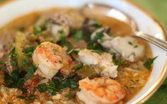 Seafood Gumbo  #justeatrealfood #17recipes