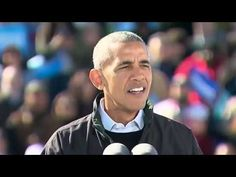 Obama shows how to handle rally hecklers paid or otherwise in Cleveland ...