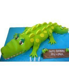 Image result for crocodile cake