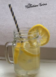 Lemon Ginger Detox Drink | Ideal If You've Overindulged & Your Stomach Is Paying The Price | Flushes Bloat, Puffiness, Discomfort & Calms Your Insides | For MORE RECIPES please SIGN UP for our FREE NEWSLETTER www.NutritionTwins.com