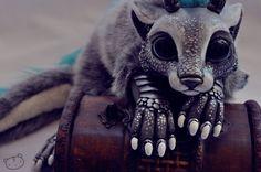 Commissioned chibi dragon spirit by ~LisaToms on deviantART