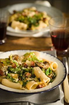 Pasta with Savoy Cabbage