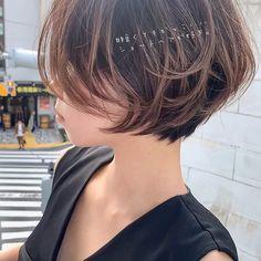 Asian Short Hair, Short Brown Hair, Short Hair Cuts, Medium Hair Styles, Curly Hair Styles, Shot Hair Styles, Bright Hair, Aesthetic Hair, Stylish Hair