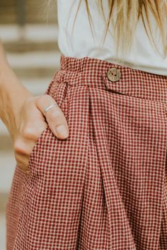 New arrivals at ROOLEE don't last long! Find the perfect Easter Sunday dresses for this upcoming spring season! Bustiers, New Outfits, Cute Outfits, Fashion Outfits, Dress Me Up, I Dress, Preppy Style, Style Me, Gingham Skirt