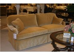 Shop for Goods Furniture Outlet - Hickory 9600 Sofa by Sherrill Furniture, 9624EKD, and other Living Room Sofas at Goods Home Furnishings in North Carolina Discount Furniture Stores Outlets. Item Location: Hickory Store - Phone: (828) 855-3220    Limited availability. Please call for details.