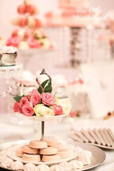 Pink Tiffany & Co. Baby Shower via Kara's Party Ideas | KarasPartyIdeas.com (15)
