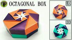 Octagonal Box -  Origami DIY Tutorial