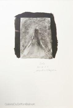 MARTIAL RAYSSE SOLO Lithographie sur papier 30 x 21  cm Signée, datée et numérotée E.A. 3/14