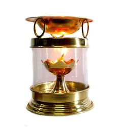 Brass Aromatherapy Oil Burner Hindu Puja Deepak Oil Lamp - Perfume Oil Diffuser with Free Accessories Brass Diya ** Read more reviews of the product by visiting the link on the image. (This is an affiliate link) #OilLampsandAccessories