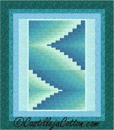 Double Darts Queen Quilt Pattern