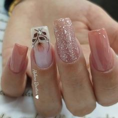 2019 Marvelous Nail Art Designs - Naija's Daily - The best fashion types in the world fashionlife Cute Nails, Pretty Nails, My Nails, Glitter Nails, Pink Nail Designs, Nails Design, Best Acrylic Nails, Dream Nails, Nagel Gel