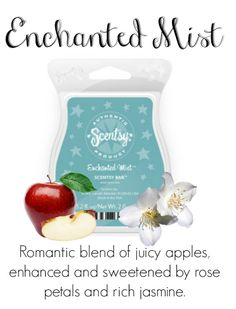 Enchanted Mist Contact me for new products, sales, and even FREE samples! www.tmartin.scentsy.us