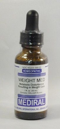Weight Med Homeopathic (1 fl. oz) by Mediral  www.eVitaminmarket.com