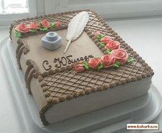 Cake Icing Tips, Fondant Cake Designs, Creative Cake Decorating, Cake Decorating Techniques, Deco Cupcake, Cupcake Cakes, Open Book Cakes, Barbie Torte, Bachelor Party Cakes