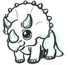 I want a little Triceratops like this