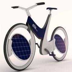 La innovación del día. Ele Solar Bike, la bicicleta solar del futuro