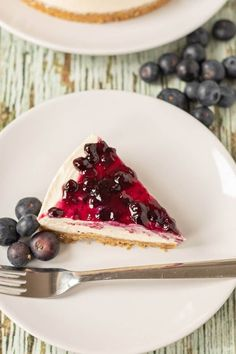 The easiest ever no bake blueberry cheesecake is the only blueberry cheesecake you will ever need. This is as quick and easy as cheesecake recipes get. No matter what the season is this cheesecake is perfect for all occasions! #neilshealthymeals #recipe #dessert #cheesecake #nobake #nobakecheesecake #blueberry #blueberrycheesecake Blueberry Juice, Blueberry Lemonade, No Bake Blueberry Cheesecake, Blueberry Desserts, Cheesecake Desserts, Marble Cake Recipes, Dessert Recipes, Baked Oatmeal Cups, Desert Recipes