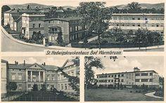 Kilka ujęć Szpitala św. Jadwigi w Cieplicach.