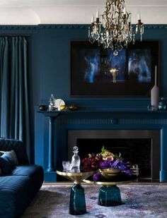 Amazing how trends catch up with what we as a culture already love. The newest trend is an inky, dark, moody look. Of course, we as a Gothic culture have been decorating our abodes like this for ages. But I like that now we have more options and it makes it easier to decorate since …