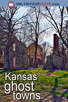 Travel | Kansas | Attractions | USA | Ghost Towns | Abandoned Places | Urban Exploring | Ghost Stories | Paranormal Activity | Ruins | Places To Visit | Creepy | Kansas Ghost Towns | Diamond Springs | Small Towns | Abandoned Kansas | Abandoned Towns | Scary
