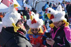Alle wollen zum #Hahnenkammrennen #Kitzbühel