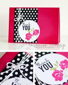 Stampin' Up! | INKspired Blog Hop | Painted Petals | By Louise Sharp