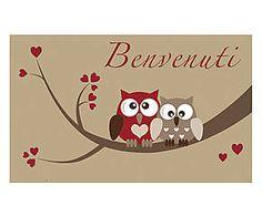 Zerbino in cocco Benvenuti rosso e beige - 45x75x2 cm Fantasy, Beige, Fantasy Books, Fantasia, Ash Beige