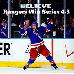* * * We made it to the Western Conference Championship game* * * Bring on the Devils. :)